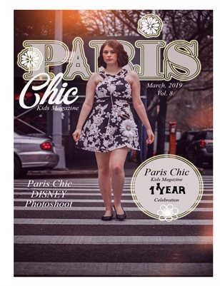 Paris Chic Kids Magazine March 1