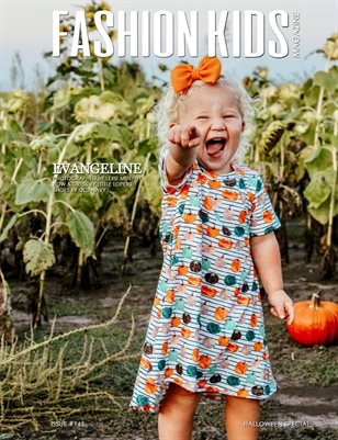 Fashion Kids Magazine | Issue #145 - Halloween Special
