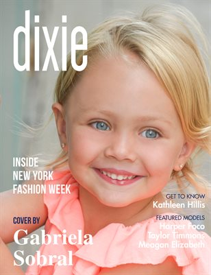Dixie Magazine - September 2017 Vol. 3 Cover Model Teagan Miller