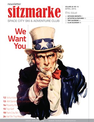 Sitzmarke Newsletter April 2014