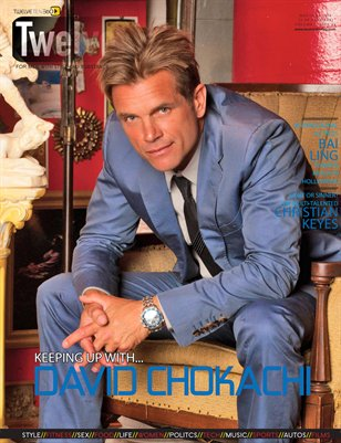 TwelveTen Magazine May/June 2016 Vol.1#4 (2 Of 3 Covers) - DAVID CHOKACHI