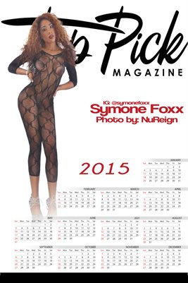 Symone Foxx 2015 Calendar
