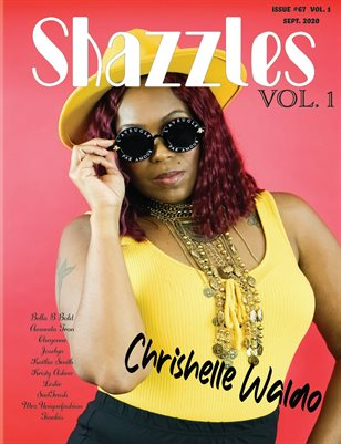 Shazzles Casual Issue #67 VOL. 1 Cover Model Chrishelle Waldo