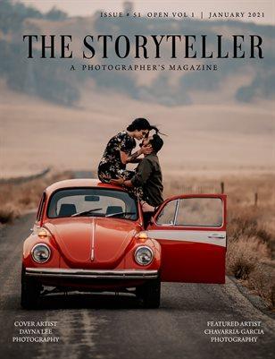 The Storyteller Magazine Issue # 51 Open VOL 1