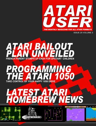 Atari User Issue 25 Volume 3