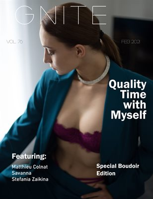 Ignite Magazine Boudoir Special Edition Vol 7