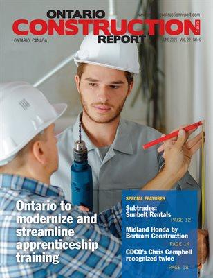 Ontario Construction News (June 2021)