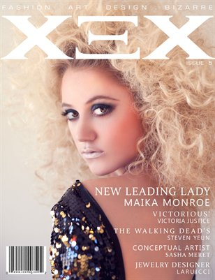 Issue 5: Maika Monroe Cover