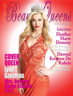 World Class Beauty Queens Magazine with Lynn Gauvreau