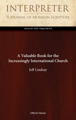 A Valuable Book for the Increasingly International Church