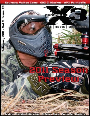 PaintballX3, February, 2011