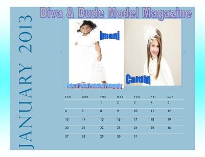 Diva & Dude Model Magazine 2013