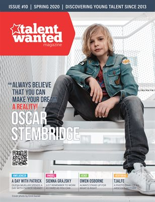 Talent Wanted Magazine #10