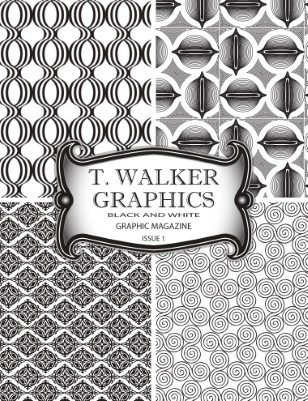 T. Walker Graphics Black and White Graphic Magazine