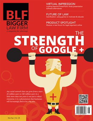 The Strength of Google Plus - March April 2014
