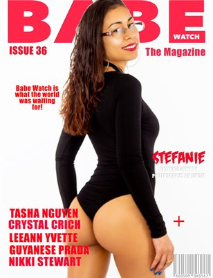 BABE WATCH MAGAZINE ISSUE 36 FT. STEFANIE