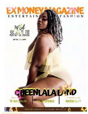 Ex Money Magazine - QueenLalaland BDSM Model