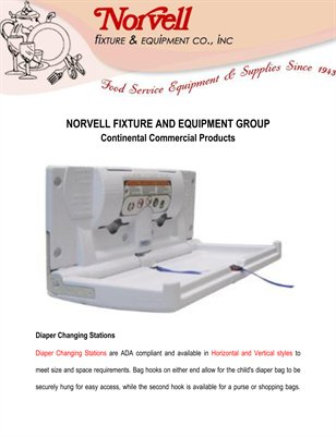 Norvell Fixture and Equipment Group: Continental Commercial Products