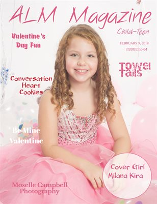 "ALM Child-Teen Magazine, ""Valentine's 2018"", Issue #64"