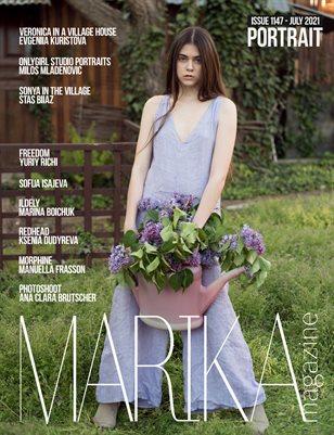 MARIKA MAGAZINE PORTRAIT (ISSUE 1147 - JULY)