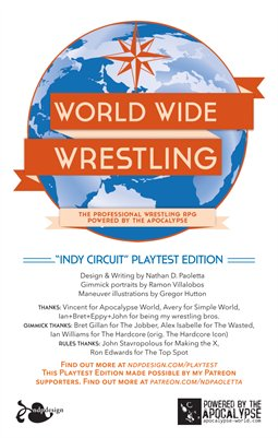 World Wide Wrestling Role Playing Game: Beta 1