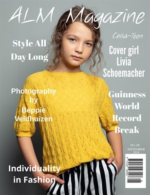"ALM Child-Teen Magazine,""Most Beautiful,"" Issue 89, September 2018"