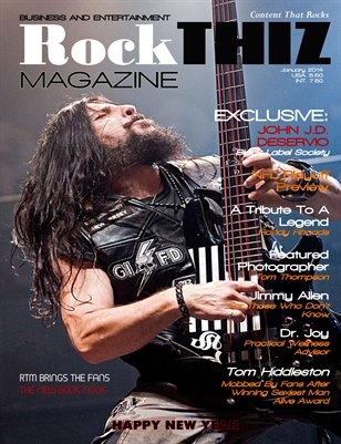 Rock Thiz Magazine HAPPY NEW YEAR Jan 2014