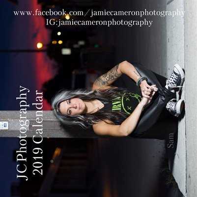 "JC Photography ""12 X 12"" 2019 Calendar"