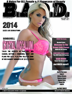 B.A.D.D. Magazine - Issue #5 (Crystal McCallum Cover)