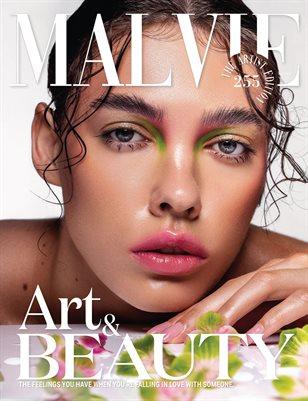 MALVIE Magazine The Artist Edition Vol 255 July 2021