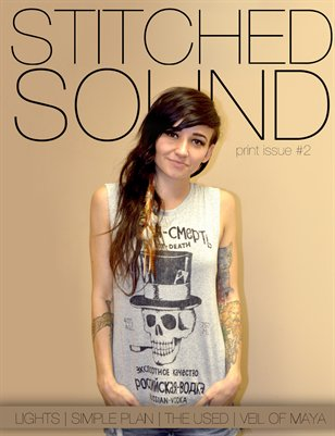 Stitched Sound Print Issue #2: Lights