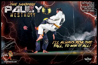 "Pauly Westhoff ""Risk the Fall"" Poster"