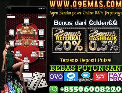 Q9EMAS.COM Situs Deposit Pulsa Bebas Potongan