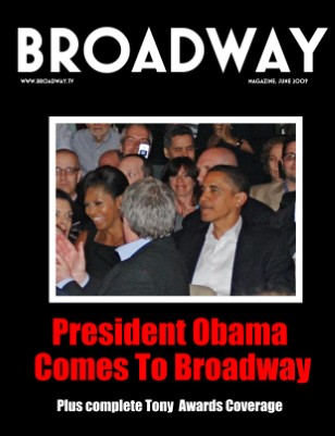 President Barack Obama on Broadway & Tony Awards