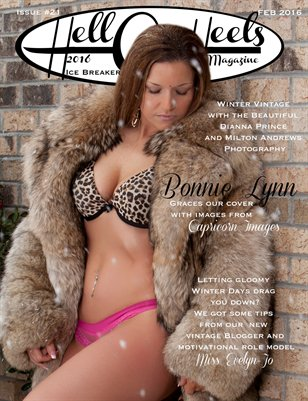 Hell on Heels Magazine Issue #21 Ice Breaker Winter 2016
