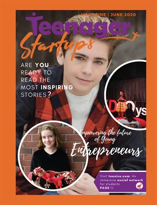 Teenager Startups June 2020 issue