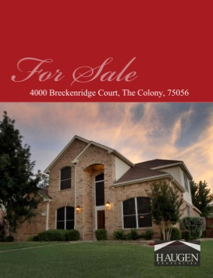 Haugen Properties - 4000 Breckenridge, The Colony, Texas