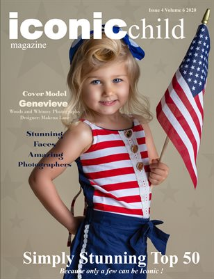 Iconic Child magazine issue 4 Volume 6 2020 Simply Stunning Top 50