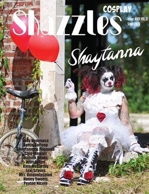 Shazzles Cosplay Issue #69 VOL.2 Cover Model Shaytanna