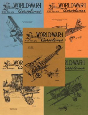 WW1 Aero 1973 Collection: Issues 39-43