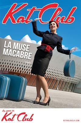 Kat Club No.26 – La Muse Macabre Cover Poster