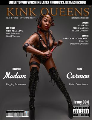 KINK QUEENS MAGAZINE   ISSUE 39 C   FALL 2021