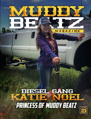 Katie Noel MuddyBeatz Magazine Issue #23