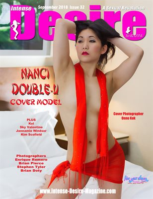 INTENSE DESIRE MAGAZINE - Cover Model Nanci Double-U - September 2018