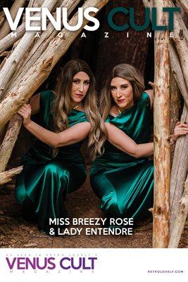 Venus Cult No. 41 – Miss Breezy Rose & Lady Entendre Cover Poster