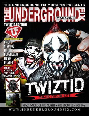 The Underground Fix Magazine 'Twiztid Edition'