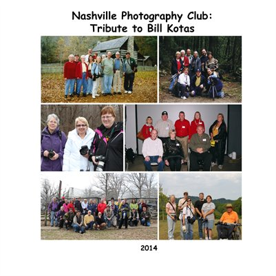 Nashville Photography Club: Tribute to Bill Kotas 2014