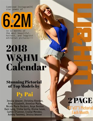 Wheels and Heels Magazine 2018 Calendar