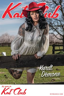 Kat Club No.13 – Kurdt Démone Cover Poster