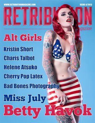 Retribution Magazine Issue 4